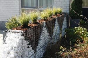 gabion d coratif un am nagement de jardin tendance. Black Bedroom Furniture Sets. Home Design Ideas